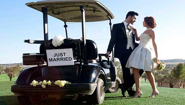 Bodas originales golf