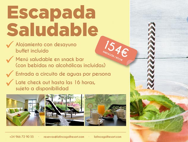 Escapada saludable